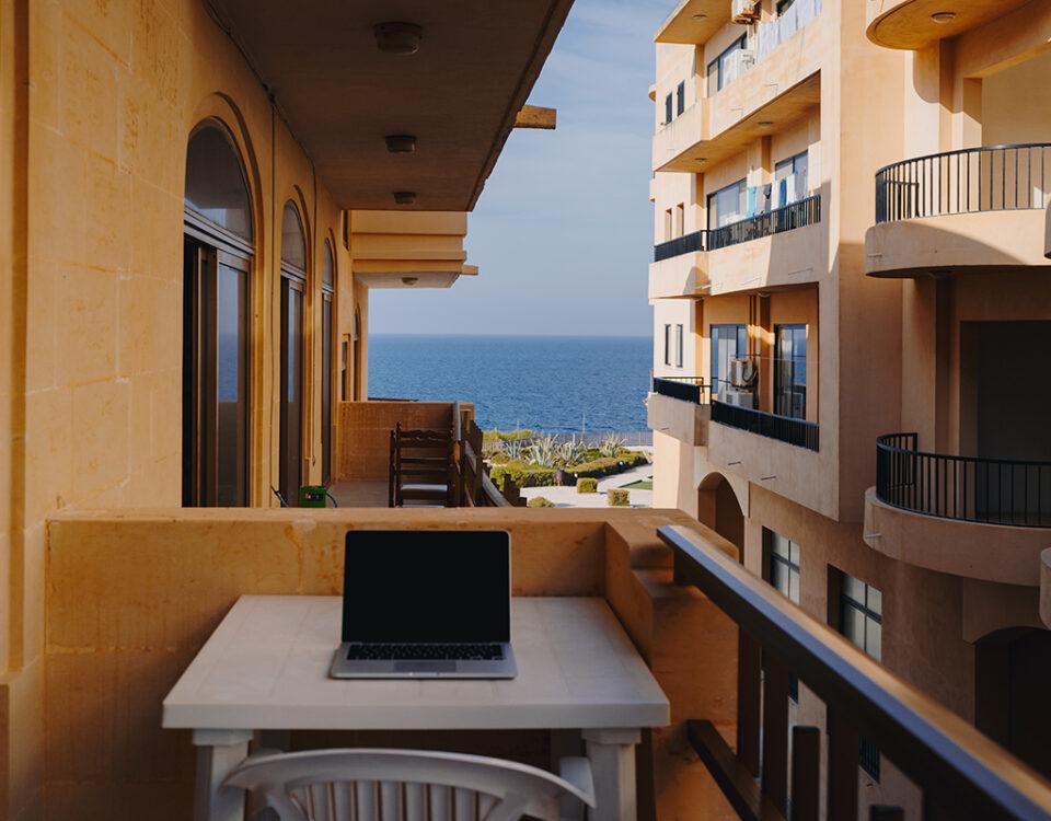 smart working in terrazzo